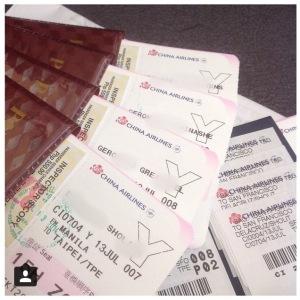 Tickets! :)